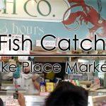 """魚を投げる魚屋??シアトルの人気スポット""""Fish Catch""""【動画付】"""