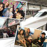 【BHS J2J '18 -3-】日本研修3日目!新幹線で東京へ!現地の学生と一緒に渋谷と原宿を散策します!