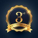 3年目を迎えました!今年から企業スローガンも設定し、勝負の1年へ邁進してまいります!