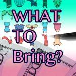 短期留学に持っていく荷物ってどうすればいいの?な質問、多いもの5選!